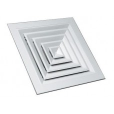 Квадратный потолочный анемостат 300х300
