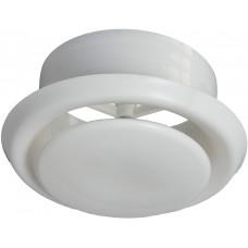 Круглый потолочный диффузор универсальный пластиковый 100